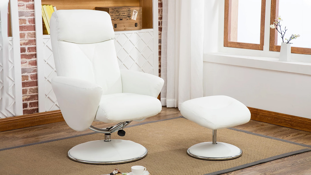 Alizza Recliner and Footstool