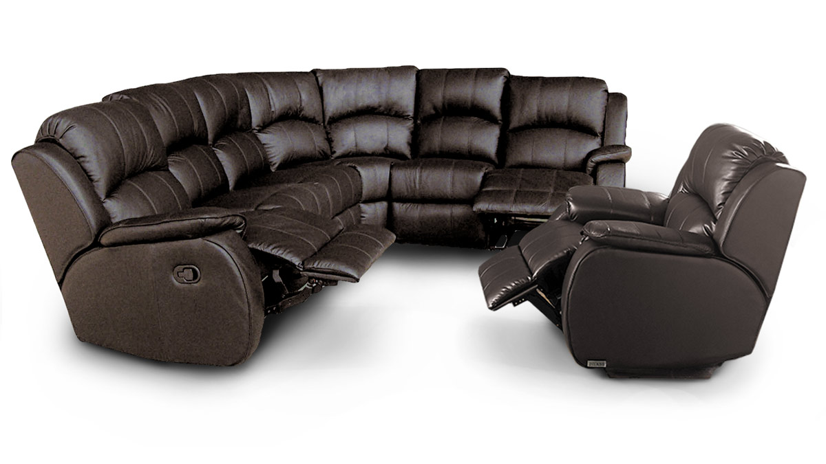 Manhattan 2C2 Reclining Corner Group + Reclining Chair