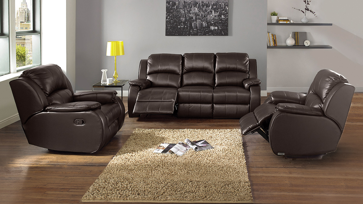 Manhattan 3 Seater Recliner