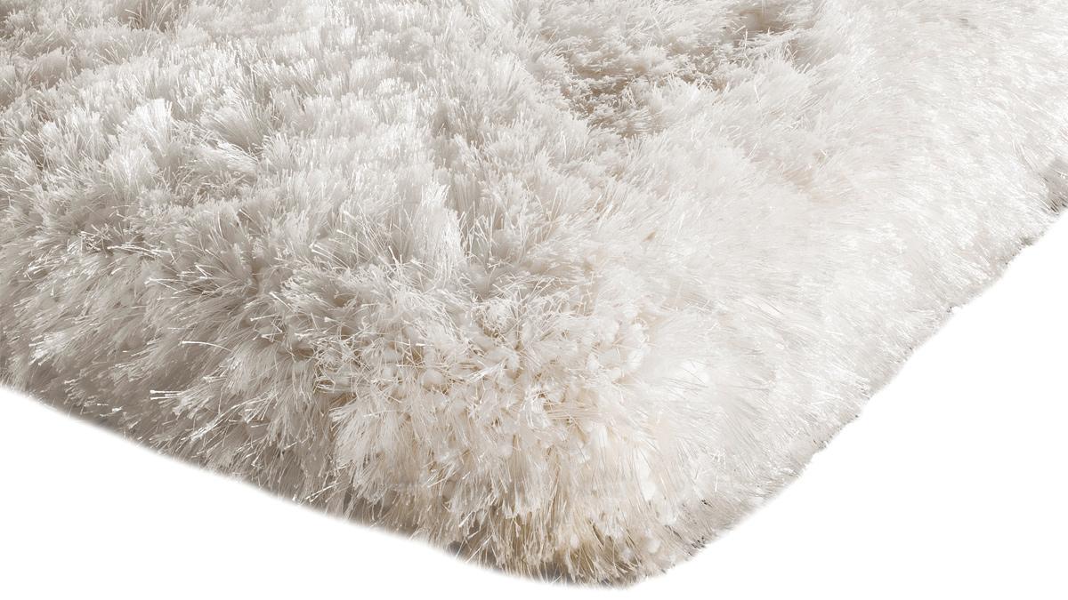 Plush Shaggy Rug - White
