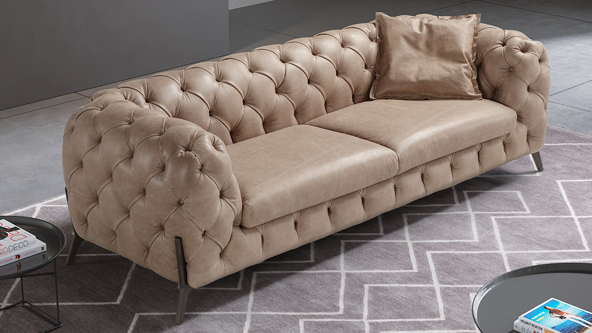 Batal 2 Seater Chesterfield
