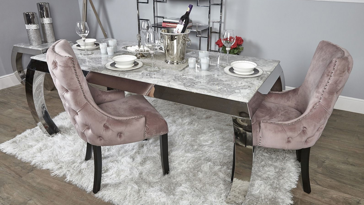 Raquel Tufted Back Dining Chairs