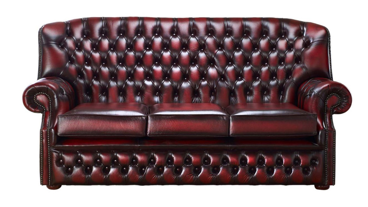 Monks 3 Seater Chesterfield
