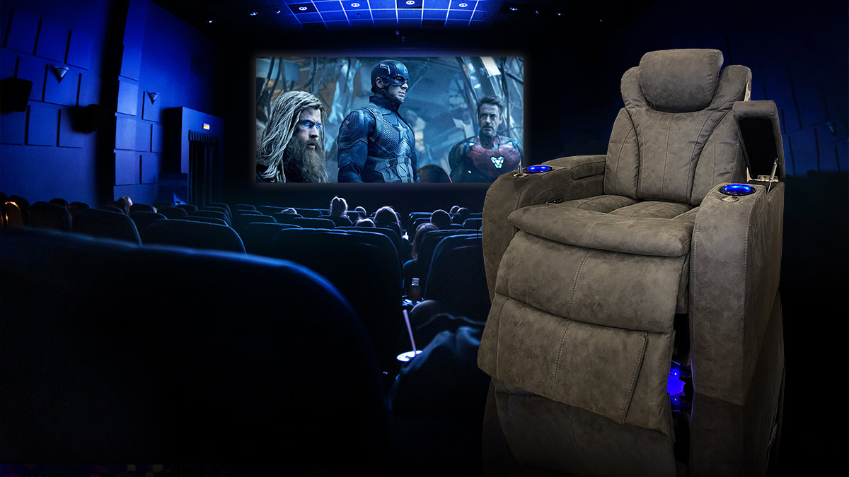 Paramount Electric Reclining Cinema Chair